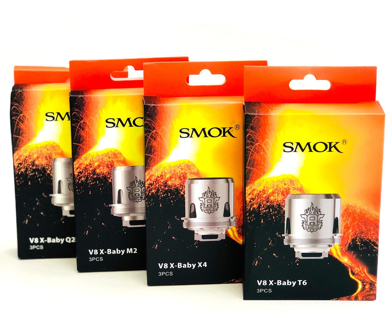 SMOK TFV8 X-Baby coils ecocig.se