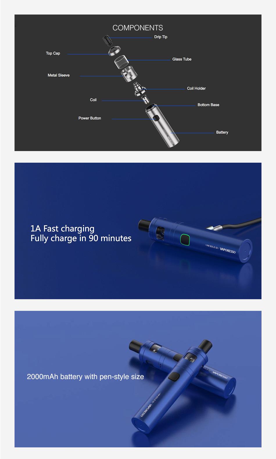 Vaporesso VM Solo Kit