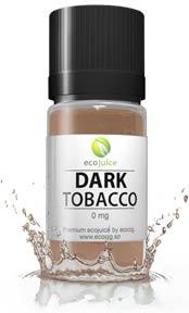 Dark Tobacco E-juice splash photo