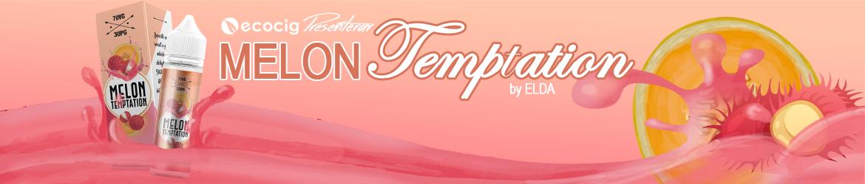 Elda Premium e-Liquid Melon Temptation - Ecocig.se