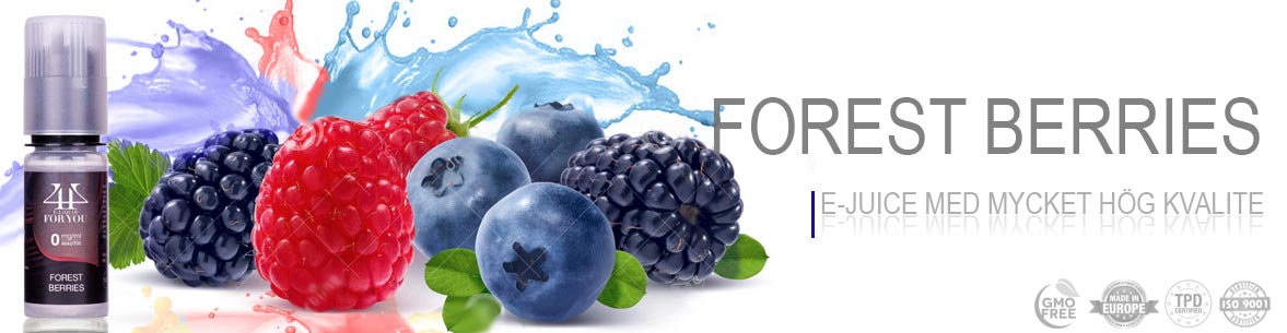 Forest Berries E-juice Sverige