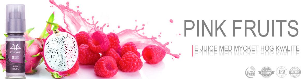 Pink Fruits E-juice Svensk