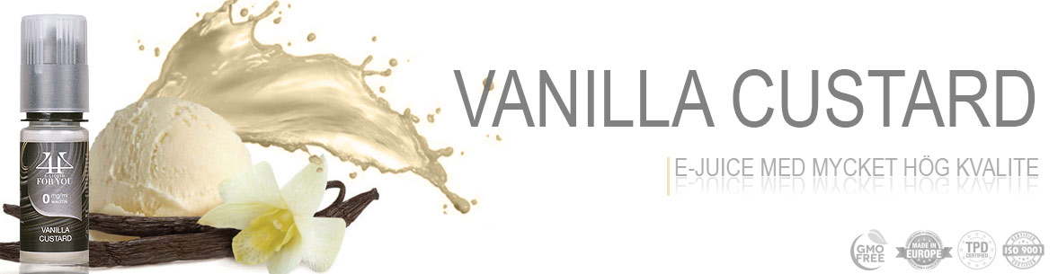 Vanilla Custard Svensk E-juice