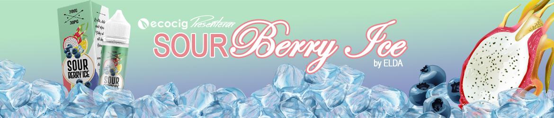 Elda Premium e-Liquid Sour Berry Ice - Ecocig.se